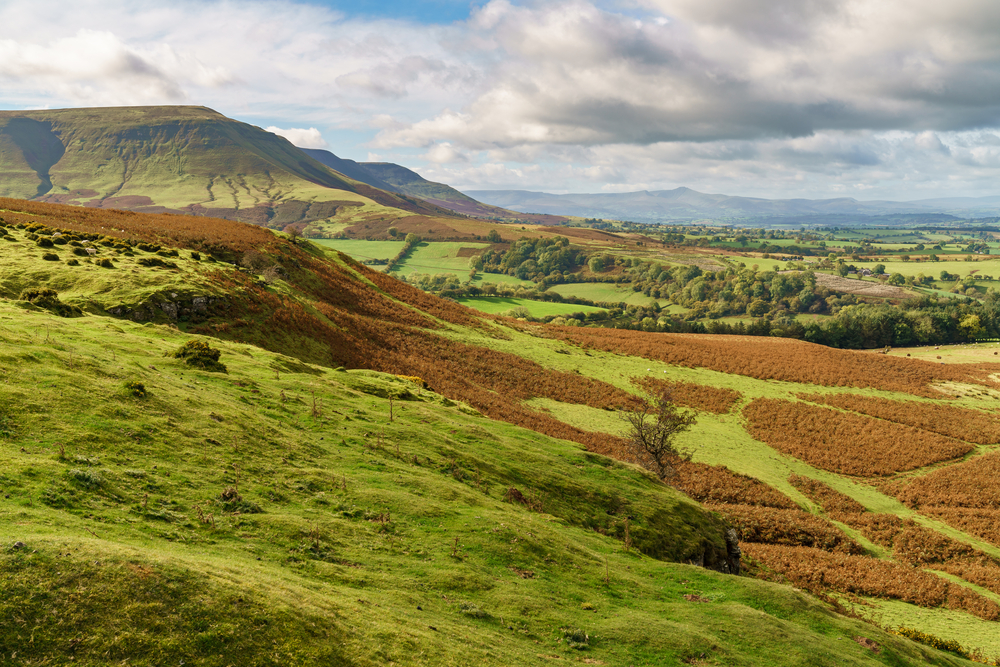 Lord Hereford's Knob, in the Brecon Beacons  (Shutterstock / BerndBrueggemann)