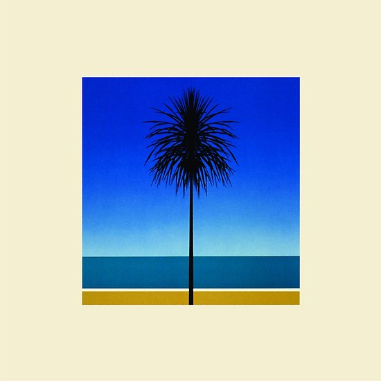 Metronomy's English Riviera album cover features artwork from an old tourism poster