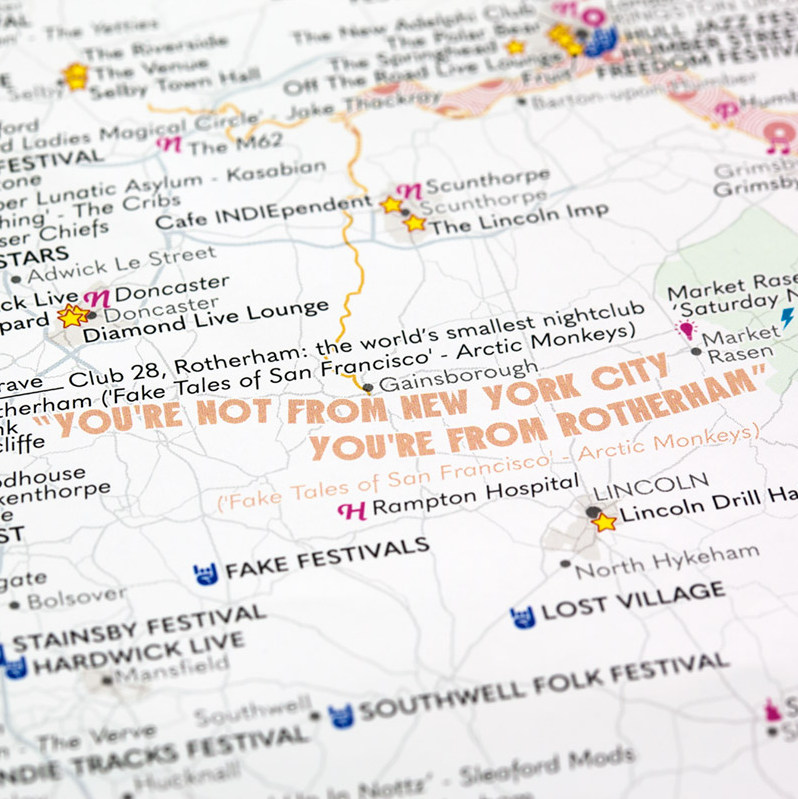 ST&G's Fastidiously Orchestrated Great British Music Map -  Close-up Rotherham-1200px