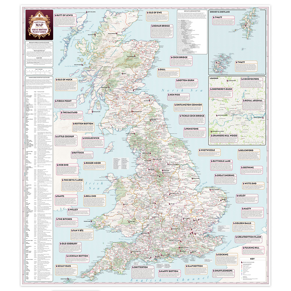 ST&G's Marvellous Map of Great British Place Names - 1000px_Sq_Drop