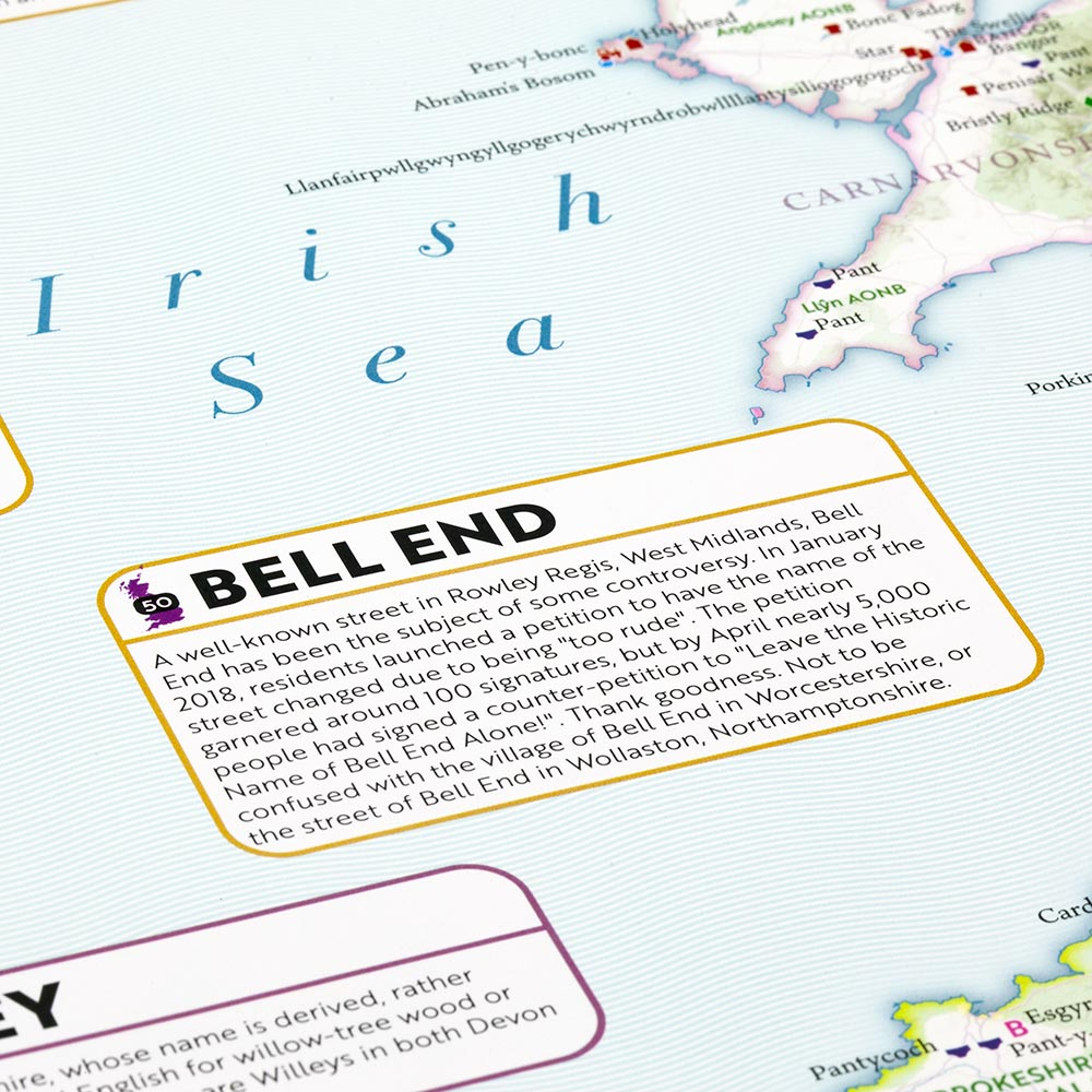 ST&G's Marvellous Map of Great British Place Names - Bell-End-Label-Sq-1000px