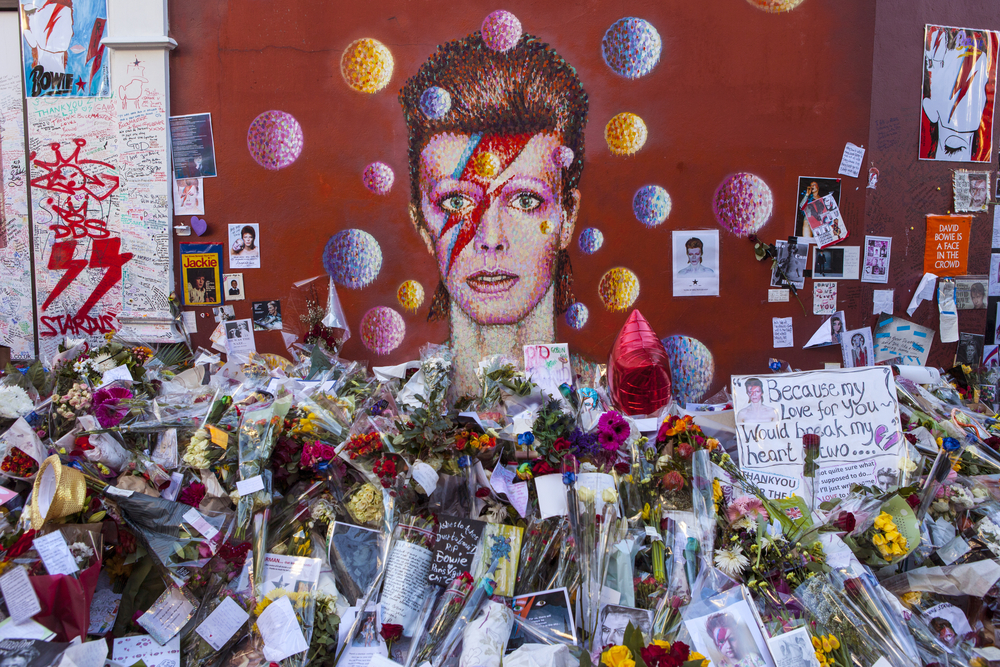 The David Bowie mural on Tunstall St, Brixton  (chrisdorney/Shutterstock)