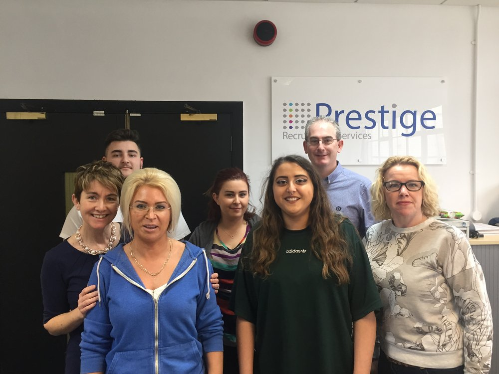 Annejulie, Josh, Jenny, Shay, Jessica, Tim and Emma from our Birmingham Office.