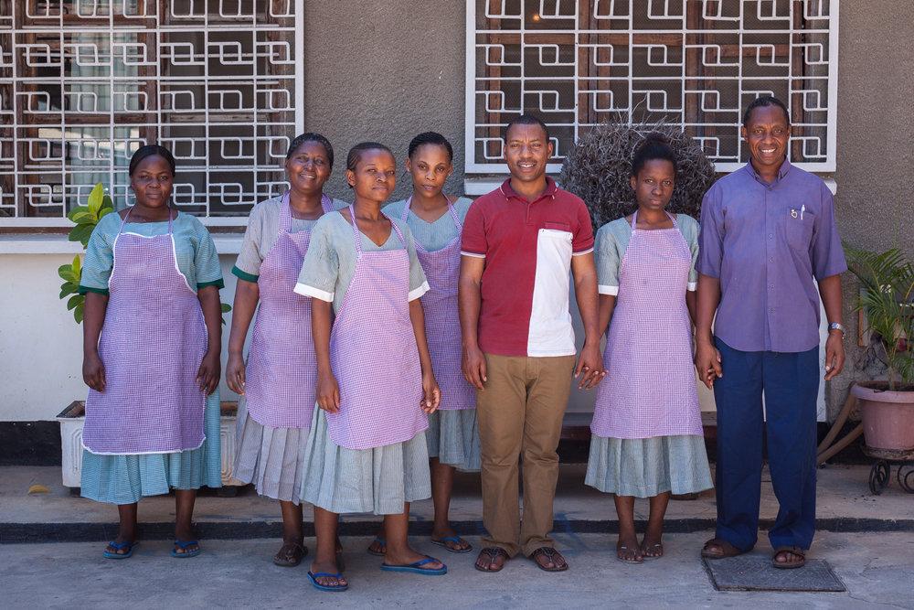 Guesthouse staff, Dar es Salaam