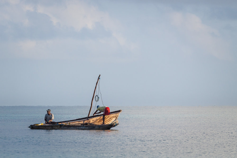 Fishermen, Zanzibar