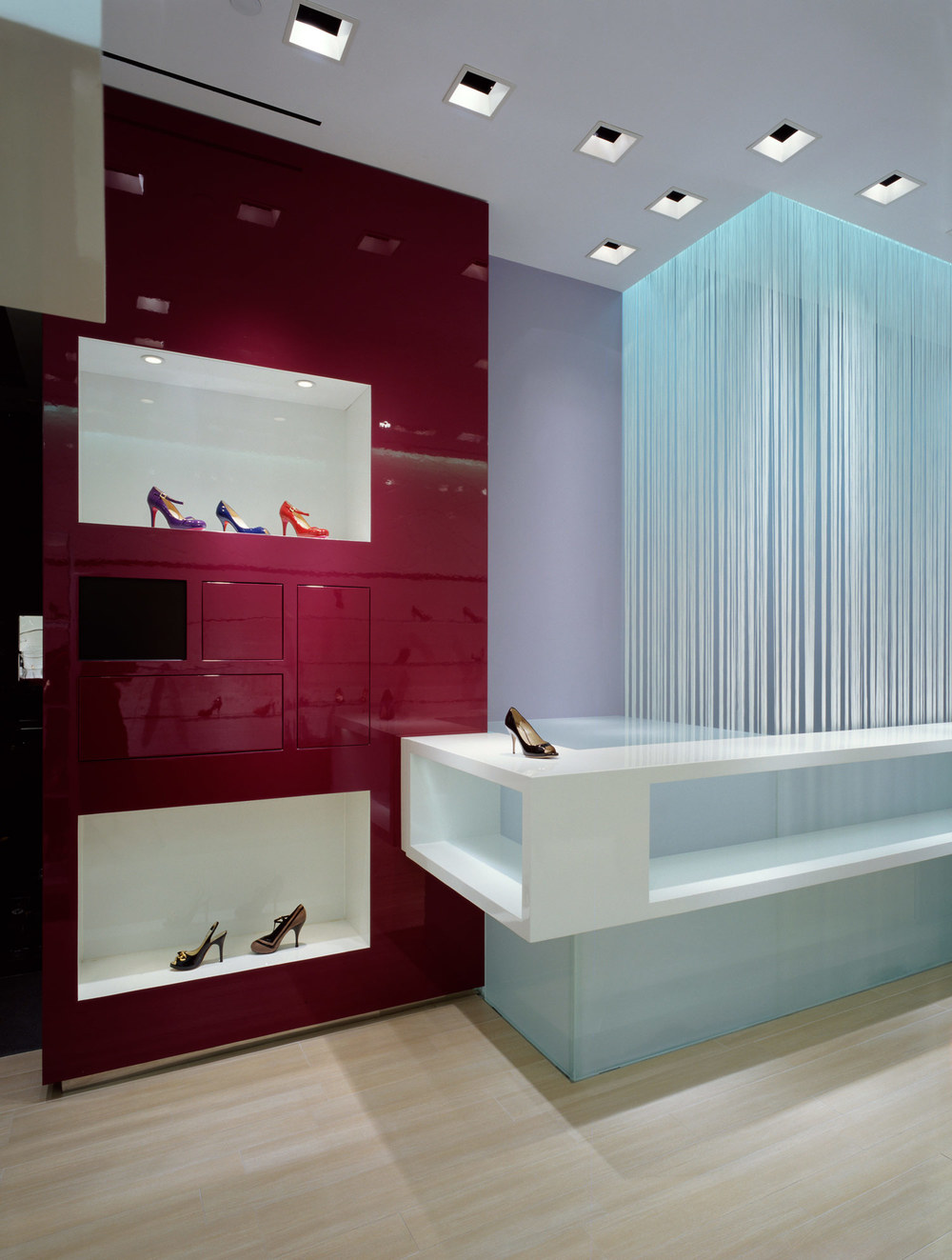 Hirshleifer's Shoe Store Design