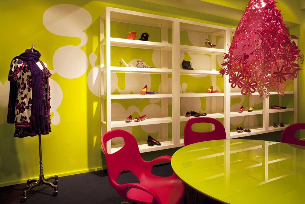 Kensiegirl footwear showroom New York