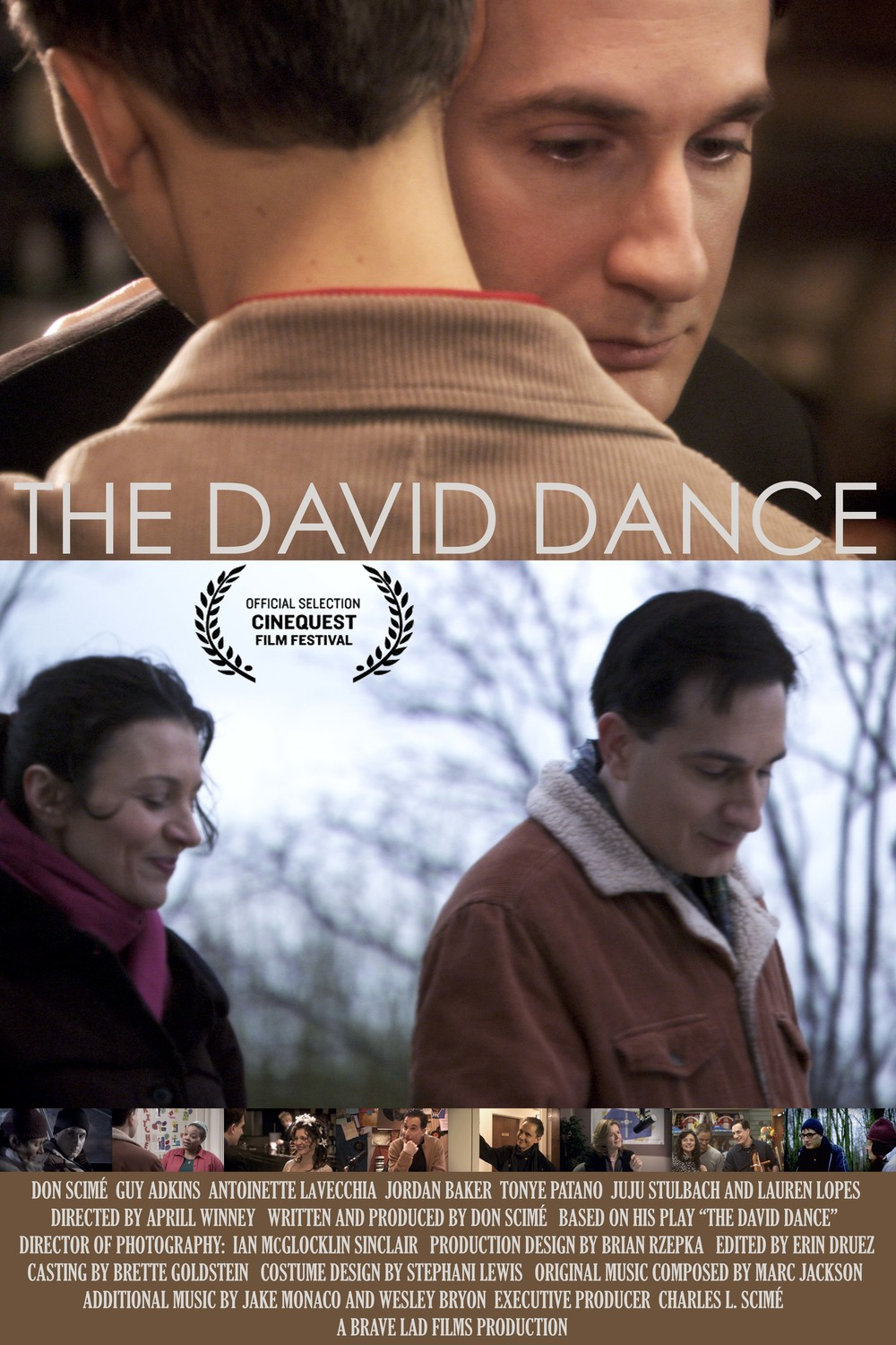 "Movie poster for ""The David Dance"" 2013"