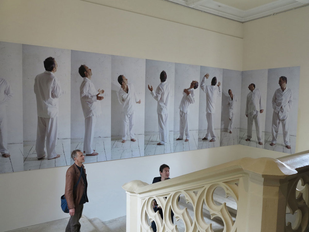 Fergus Martin and Anthony Hobbs,  Frieze,   Hotel de Menoc, Melle, France 2013