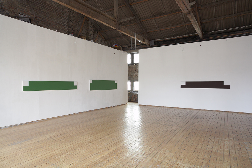 Storm, installation view, Green on Red Gallery, Dublin, 2006