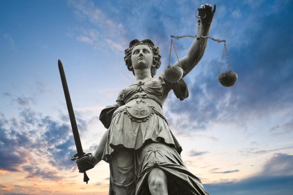 "THEMIS (th""emis) n.  The Greek Goddess representing fairness and trust"