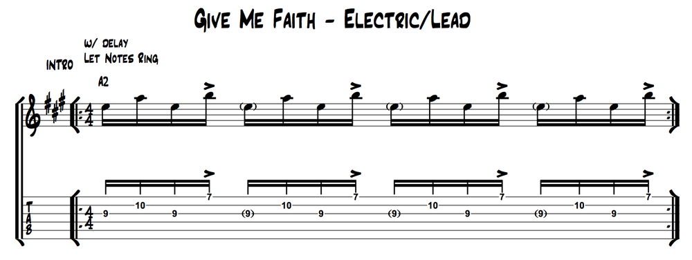 Elevation Worship - Give me Faith (Lead) - INTRO