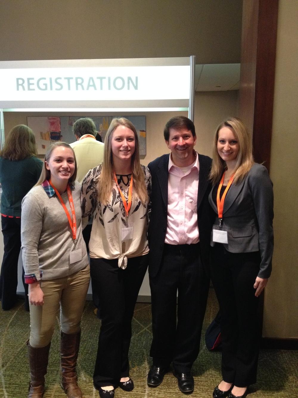 Dr. Roark & LMU girls.jpg