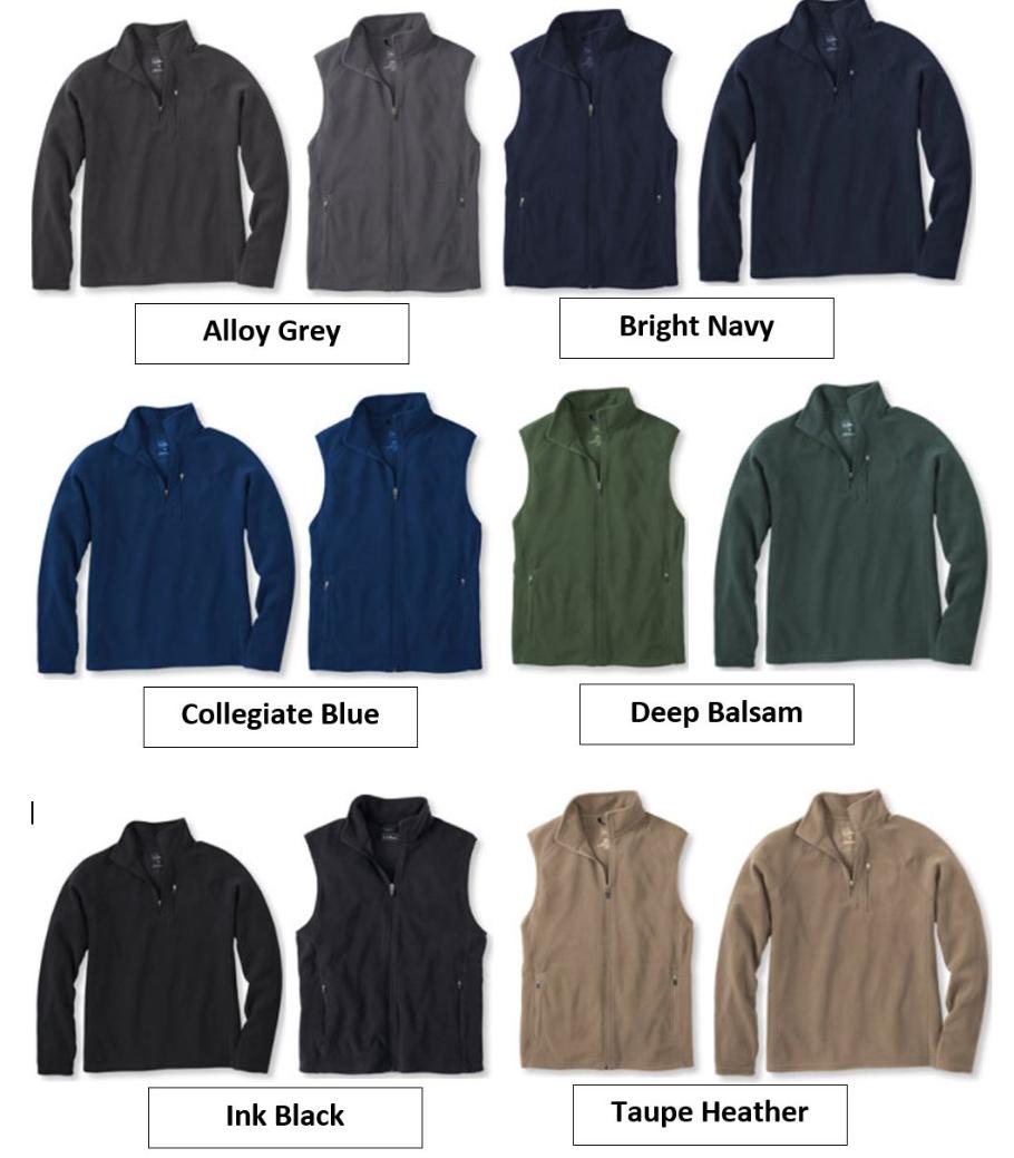 SAVMA Fleeces  - Vests: $40Quarter Zips: $45Full Zips: $50