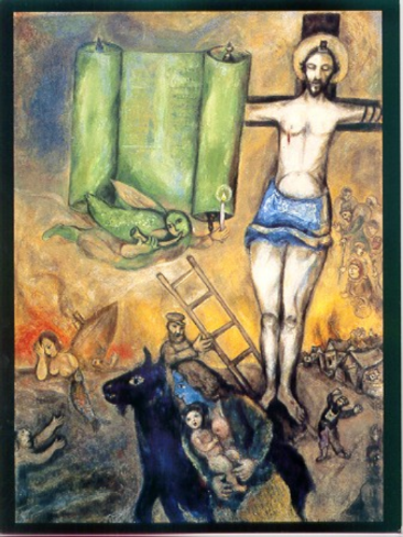 Marc Chagall, The Yellow Crucifixion
