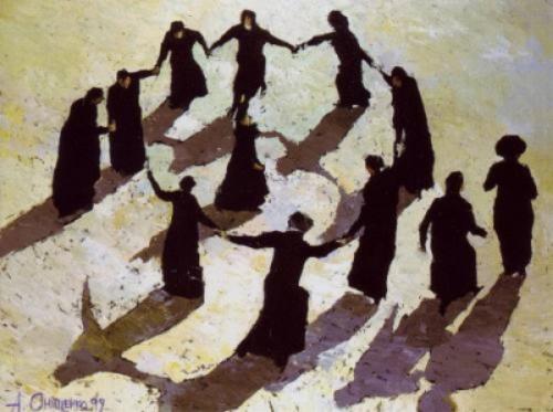"Jewish Dance"" by Alexandr Onishenko, 1999"