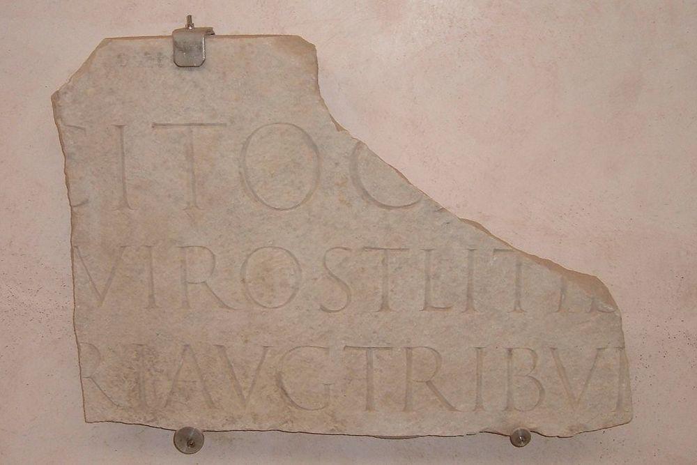 Sepulchral Inscription of Tacitus