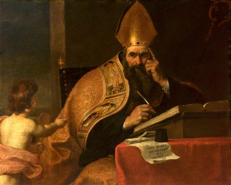 Saint Augustine of Hippo - attributed to Gerard Seghers (Wikimedia Commons)
