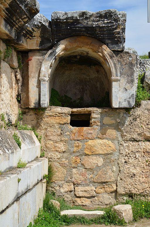 Plutonium (Pluto's Gate) in Hierapolis  By Carole Raddato