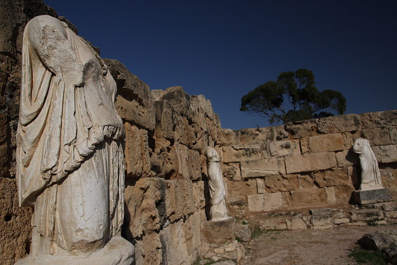 Ancient Salamis, Cyrpus Source:  Wikimedia Commons