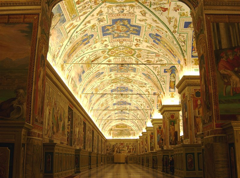 The Sistine Hall of the Vatican Library, By xiquinhosilva