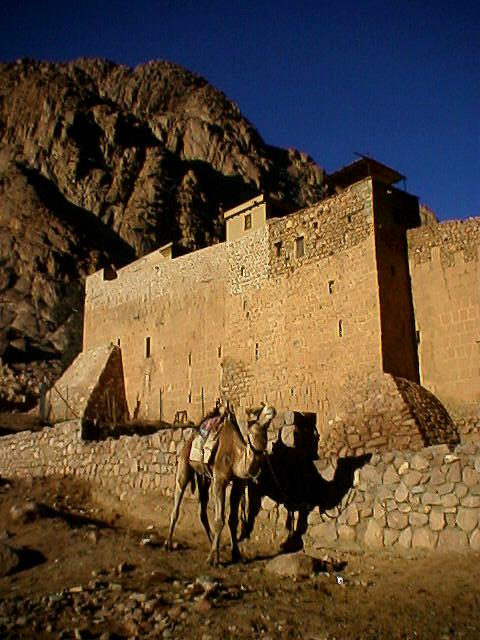 St. Catherine's Monastery in Sinai, (WT-en)  Jpatokal at English Wikivoyage