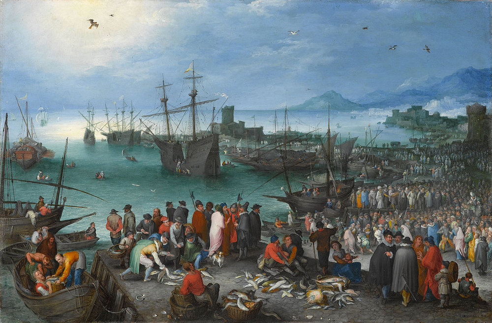 Harbor Scene with St. Paul's Departure from Caesarea - Jan Brueghel the Elder - Google Cultural Institute.jpg
