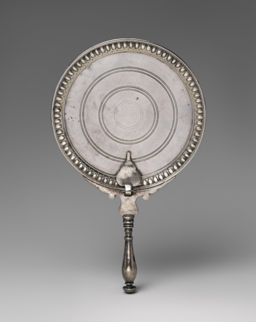 Early Imperial Silver Mirror (1st c. CE) , The Metropolitan Museum of Art