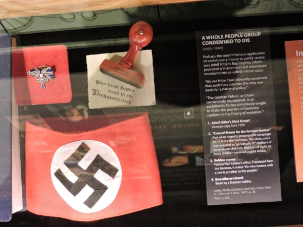 Fig. 7. Nazi Artifacts. Photo by the author, Oct. 1, 2016.