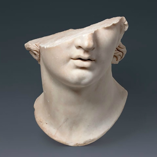 Fragmentary Colossal Head of a Youth, Greek, Hellenistic Period, 2nd century B.C.E., Marble  Berlin, Pergamonmuseum, Staatliche Museen zu Berlin (AvP VII 283) / Antikensammlung