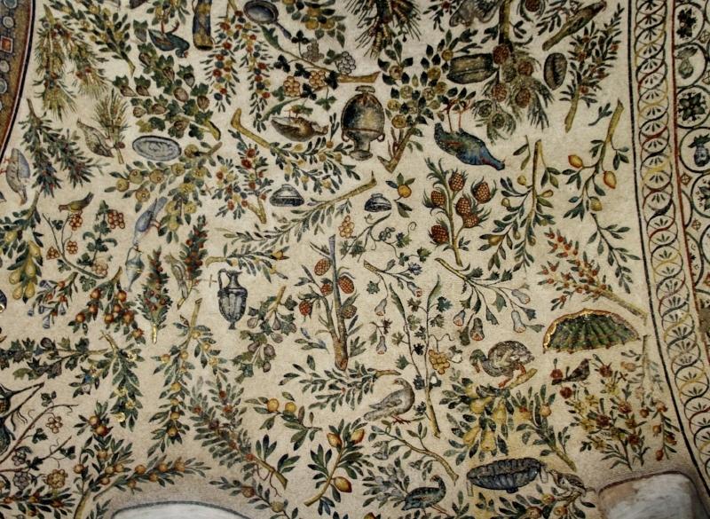 Deambulatory Mosaic in S. Costanza, Rome ( Image Source )