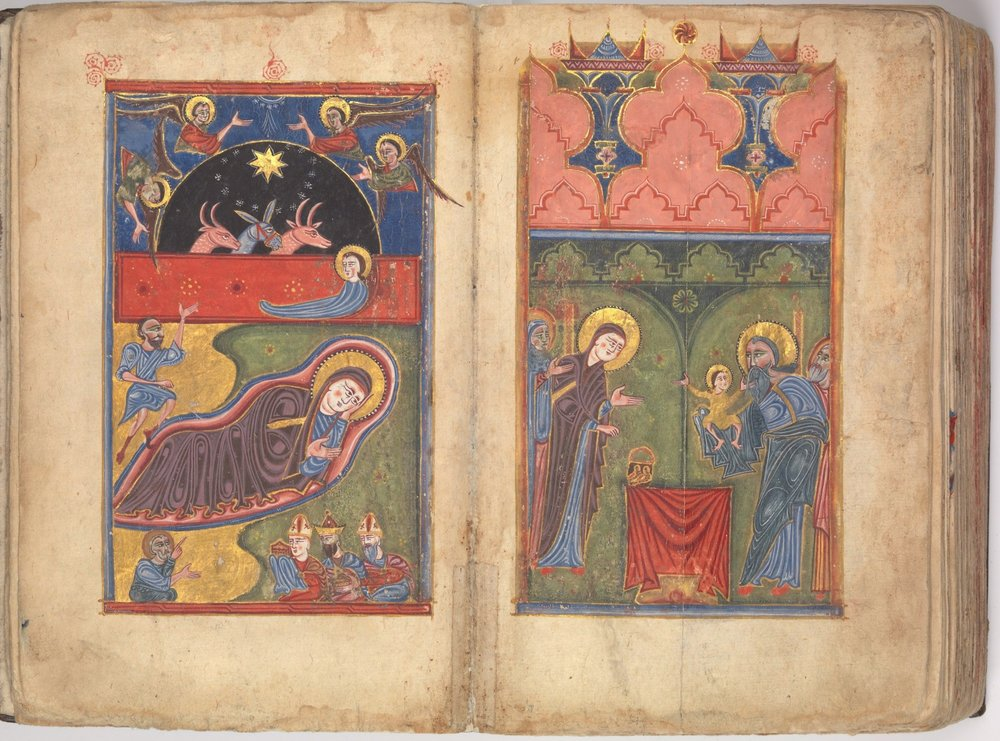 Four Gospels in Armenian (1434/5 CE) - MET Collection