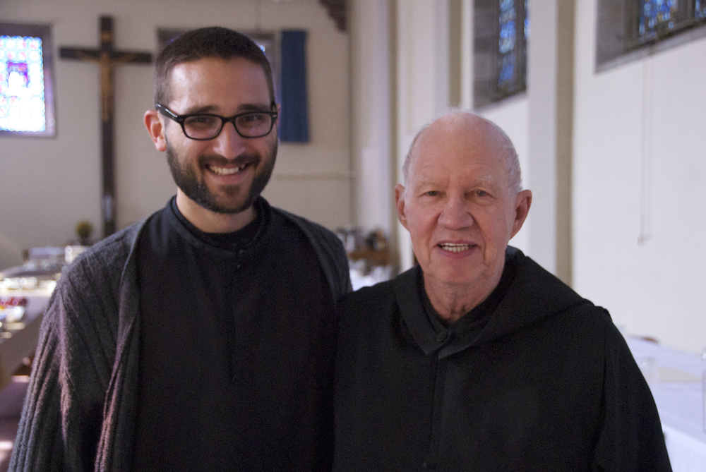 Br. Emmanuel Orrino & Fr. Bruce Swift.