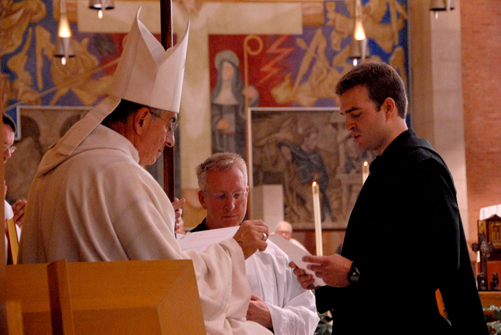 The Solemn Profession of Br. Simon Baker