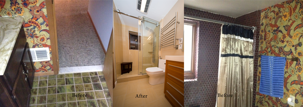 Before and after remodeling gallery Euro Design Remodel