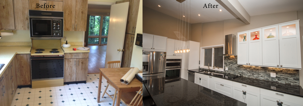 Before and after gallery info — Euro Design Remodel - remodeler with ...