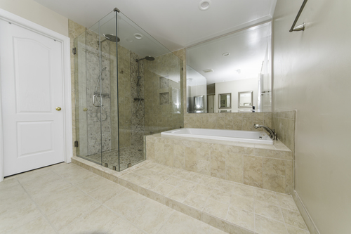 services, bathroom remodeling gallery — euro design remodel