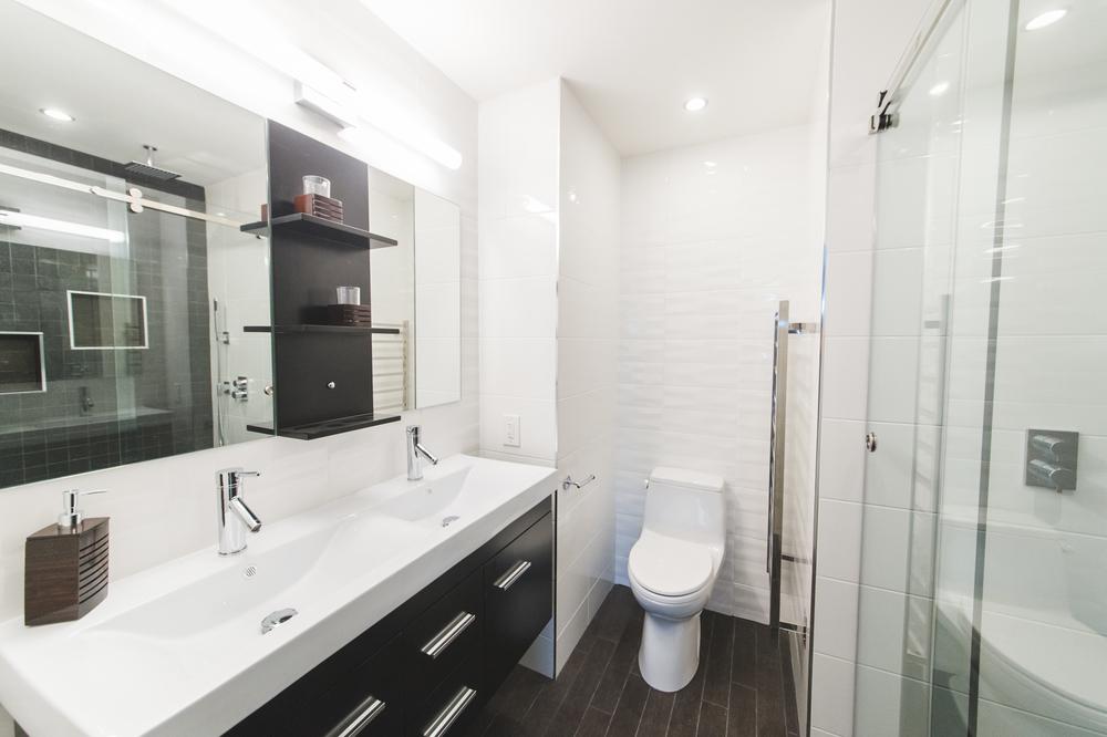Modern Bathroom Remodel Silver Spring MD Euro Design Remodel - Kitchen remodeling silver spring md
