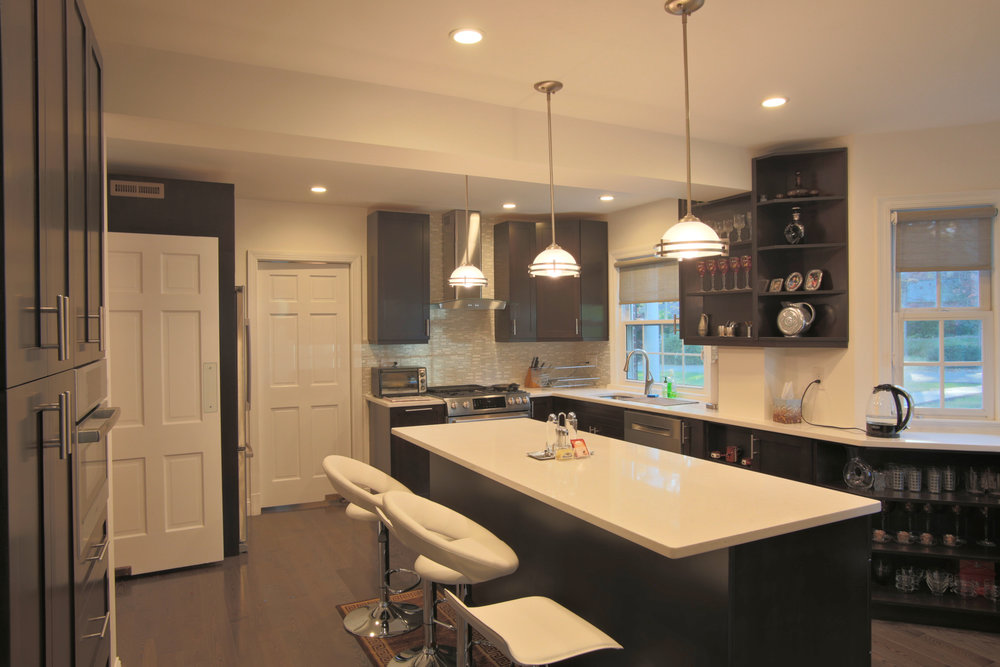 Kitchen Remodeling Bethesda Cool Oldkitchen Remodeling Gallery — Euro Design Remodel  Remodeler . Design Decoration