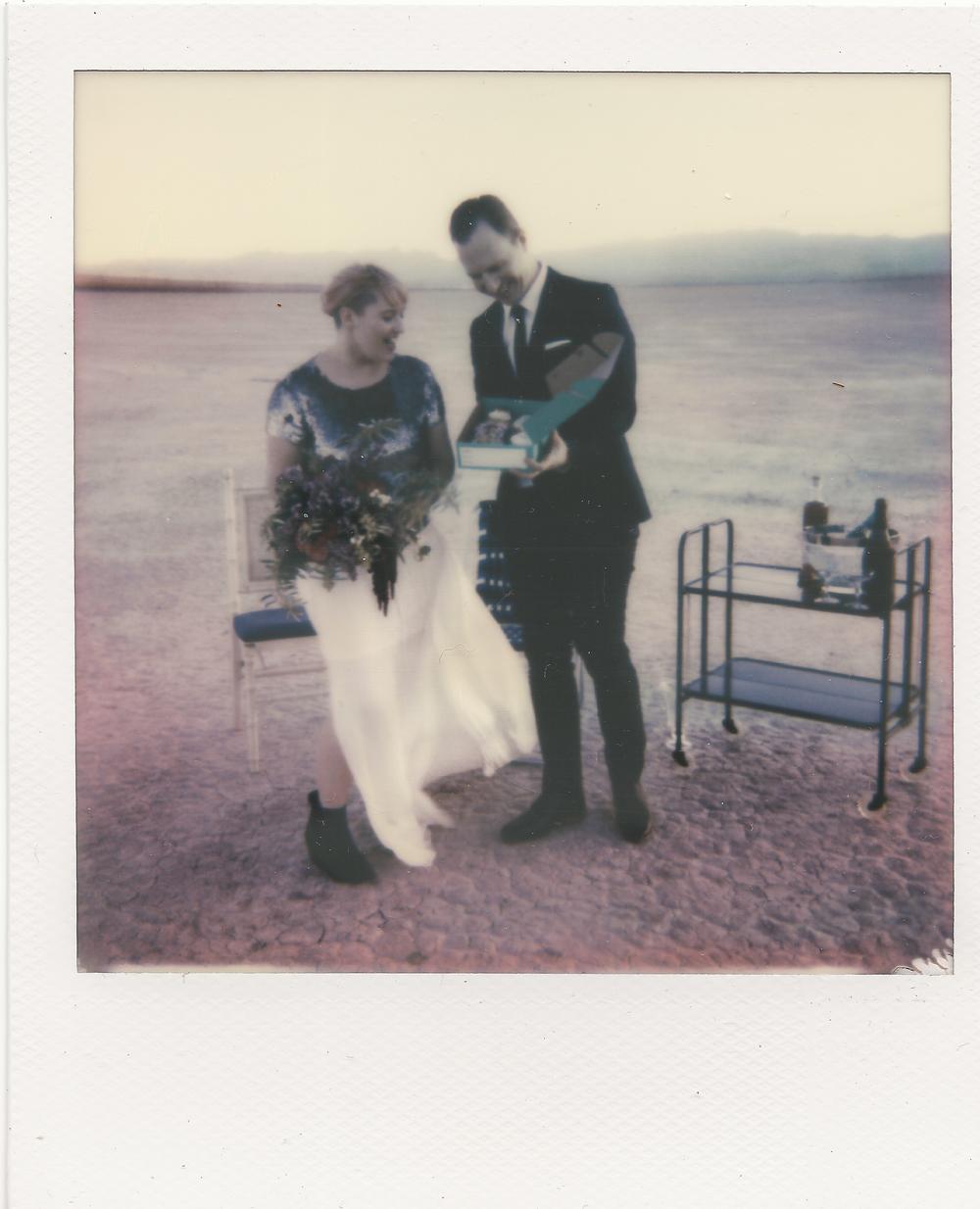 polaroid wedding las vegas