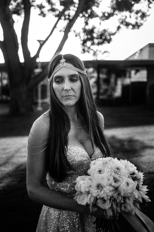 Bridal style, bride dress, wedding dress, black and white,Las Vegas Country Club Wedding, Golf course wedding, Las Vegas Wedding, Lifestyle Photography, Sunset wedding, Fall wedding, Flora Pop Wedding,