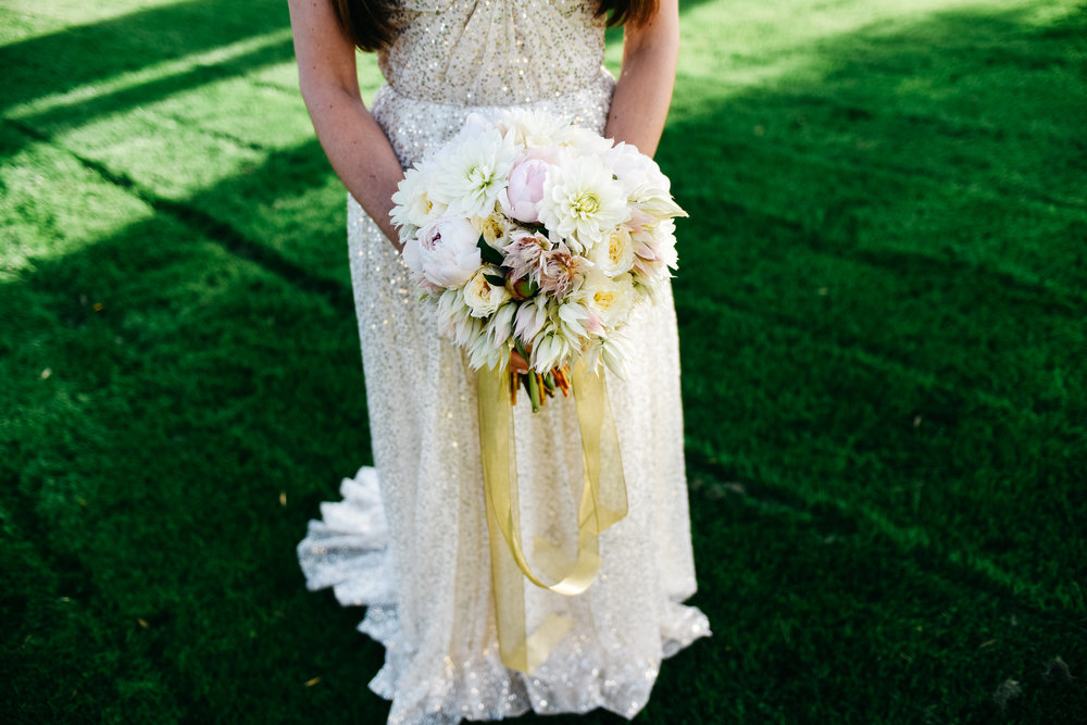 Bridal Bouquet, Bouquet, wedding dress,Las Vegas Country Club Wedding, Golf course wedding, Las Vegas Wedding, Lifestyle Photography, Sunset wedding, Fall wedding, Flora Pop Wedding,