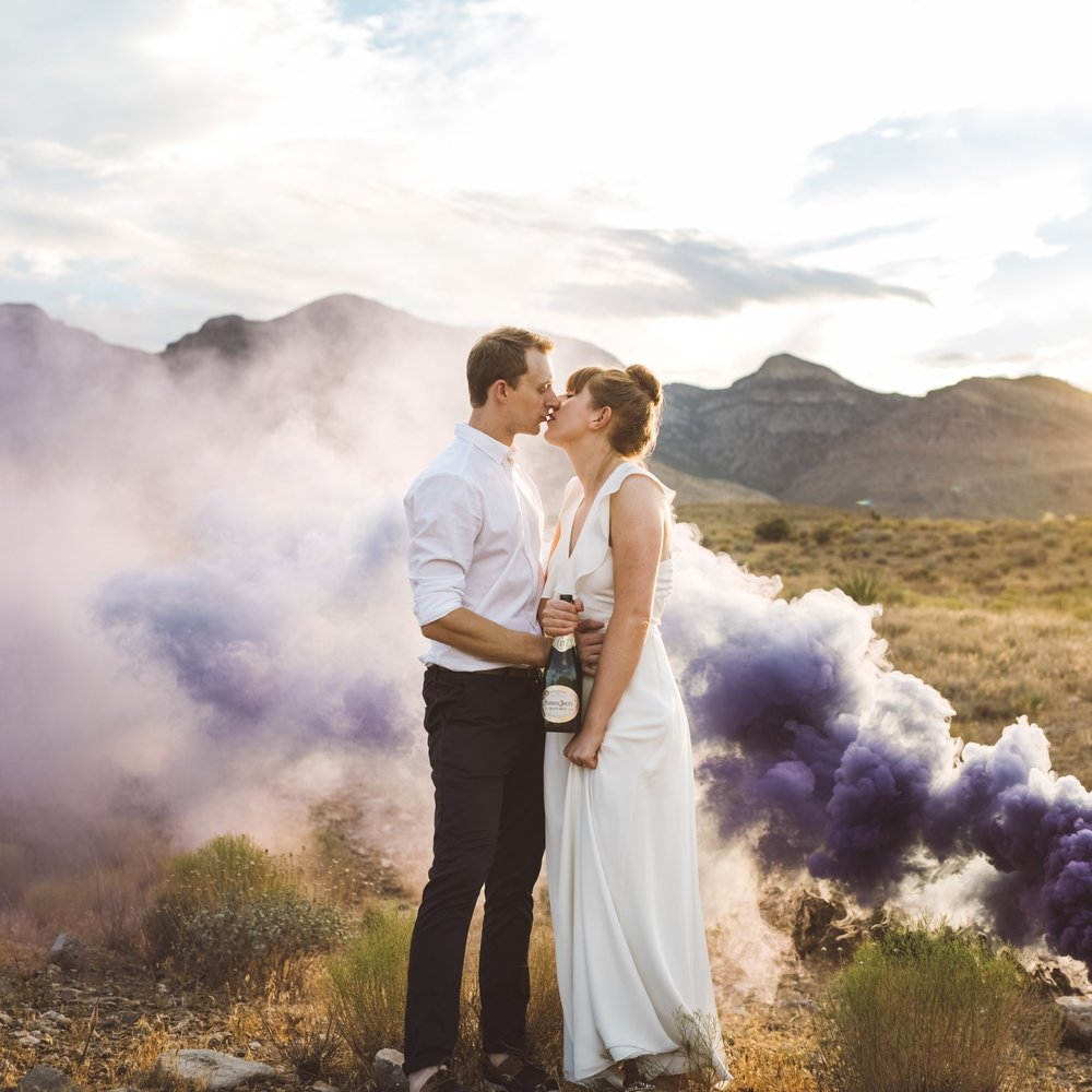 Jamie & Holly - Red Rock Elopement