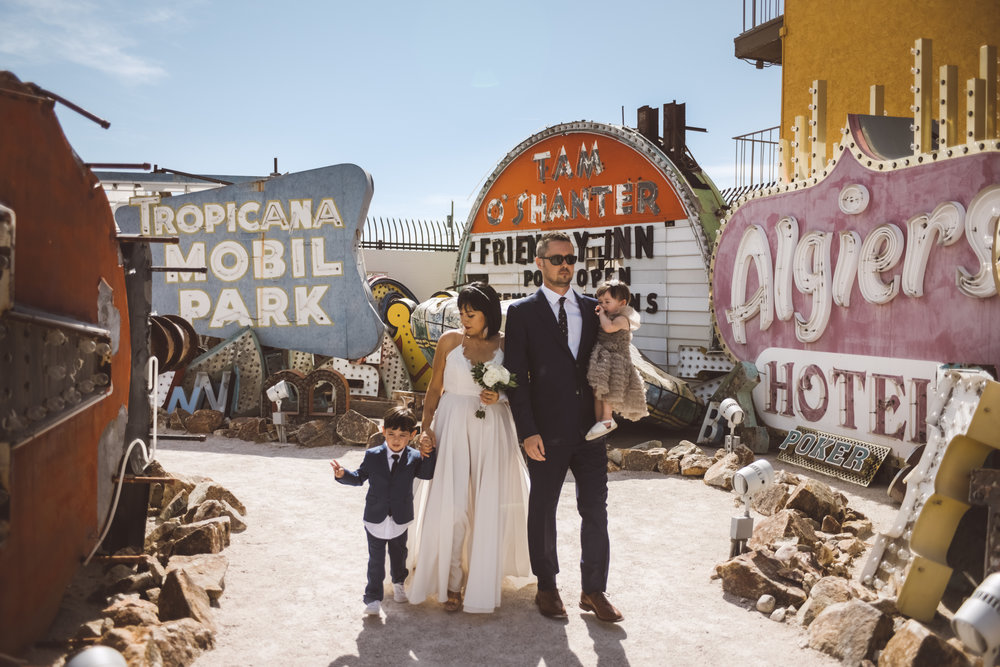 Lifestyle Photography by Ashley Marie Myers Neon Museum Elopemnt DTLV-140.jpg