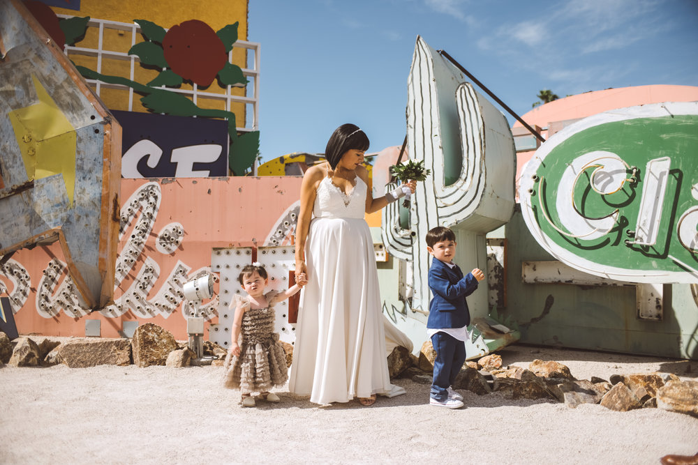 Lifestyle Photography by Ashley Marie Myers Neon Museum Elopemnt DTLV-144.jpg