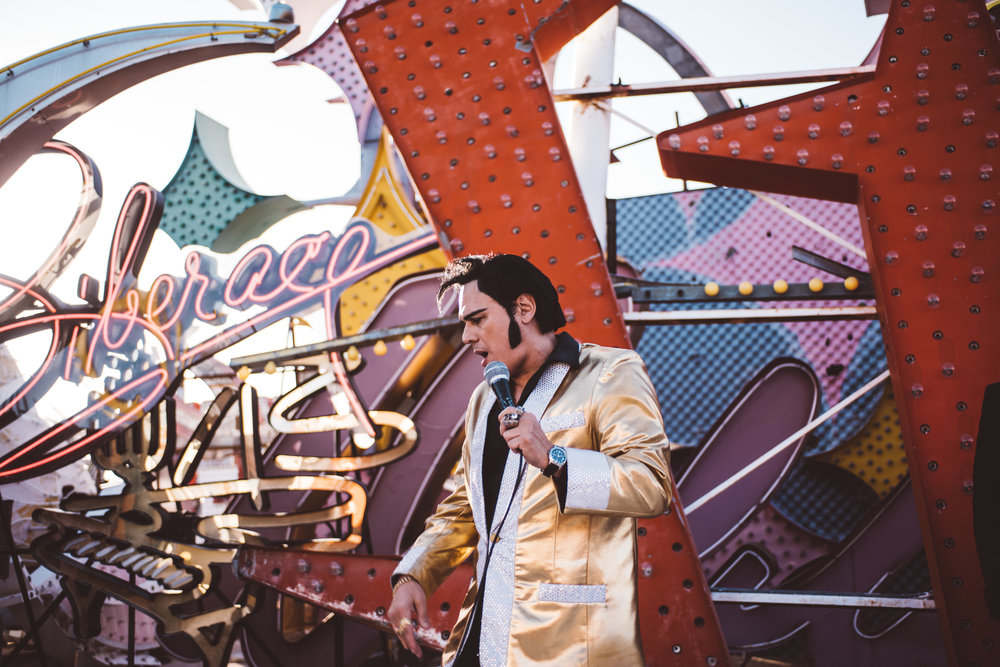Neon Museum Elopement Elvis Elopement Las Vegas Photography by Ashley Marie-47.jpg