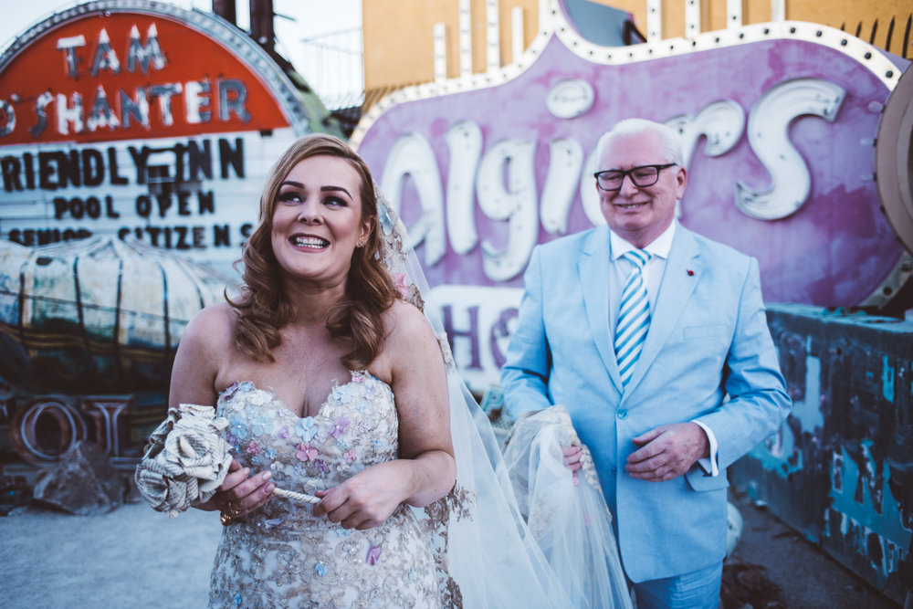 Neon Museum Elopement Elvis Elopement Las Vegas Photography by Ashley Marie-17.jpg