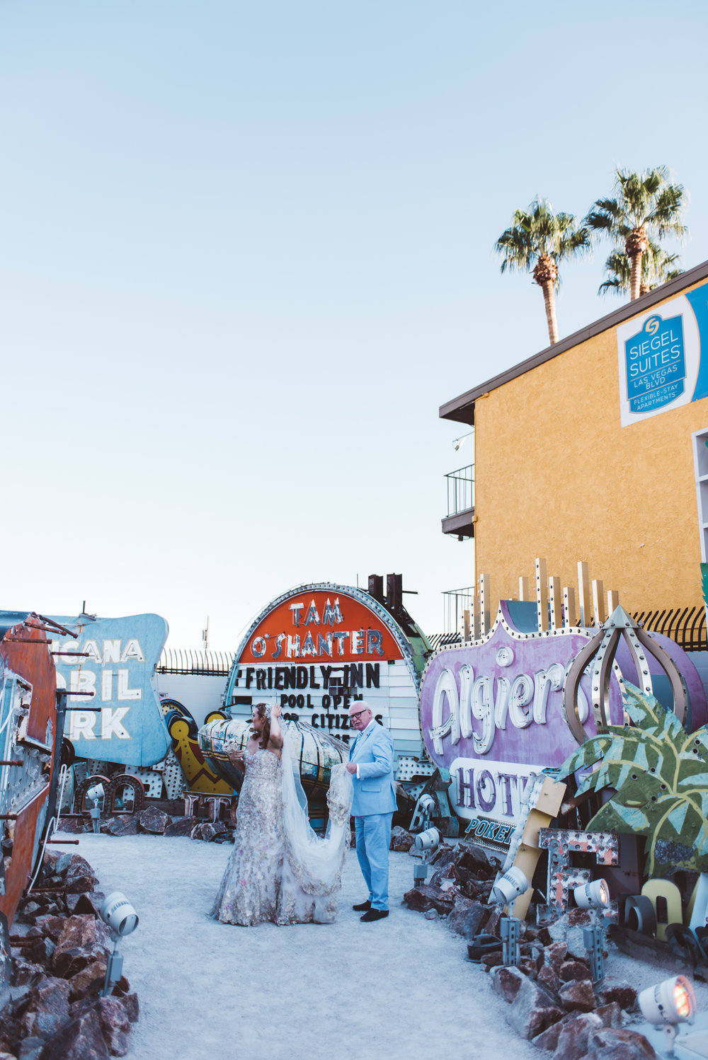 Neon Museum Elopement Elvis Elopement Las Vegas Photography by Ashley Marie-18.jpg