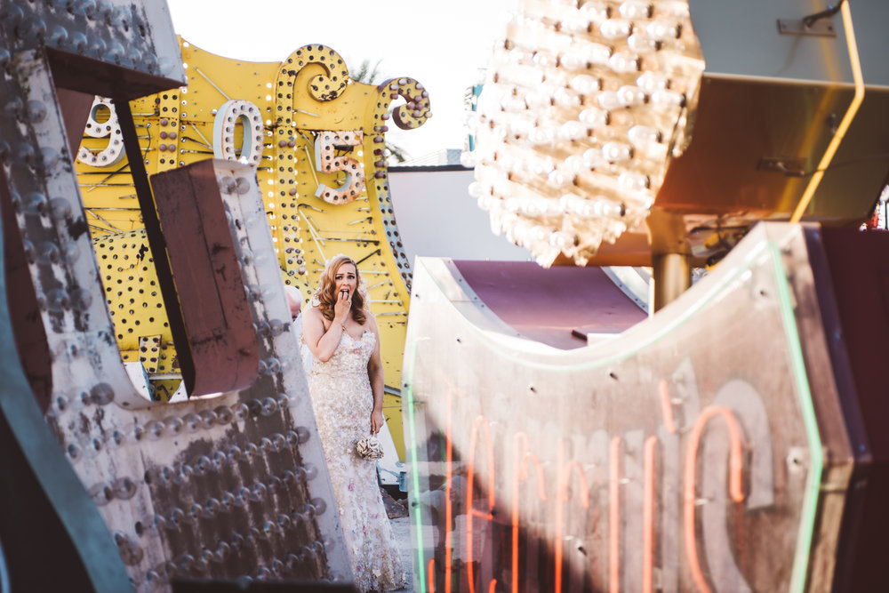 Neon Museum Elopement Elvis Elopement Las Vegas Photography by Ashley Marie-34.jpg