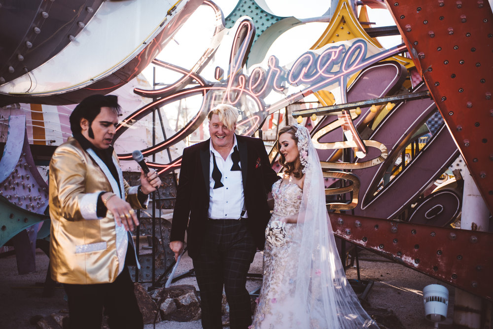 Neon Museum Elopement Elvis Elopement Las Vegas Photography by Ashley Marie-61.jpg